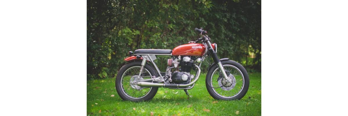 1973 CB350T